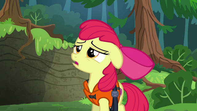 File:Apple Bloom wearing life jacket S6E4.png