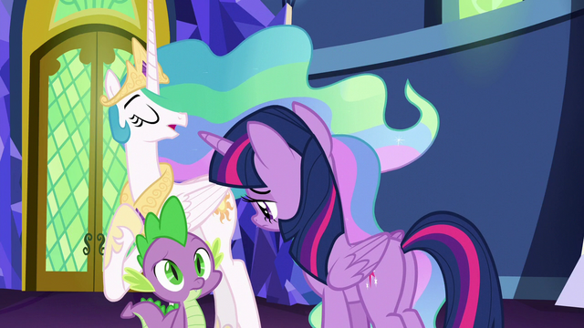 "File:Celestia ""even I don't know the answer"" S7E1.png"
