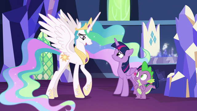 """File:Celestia """"if that is what you're afraid of"""" S7E1.png"""