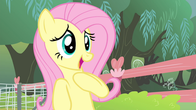 File:Fluttershy 'I'm one of their biggest fans' S4E14.png