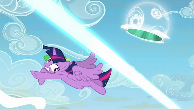 File:Twilight Sparkle avoids Starlight's magic beam S5E26.png