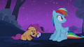 Rainbow Dash looking around S3E06.png