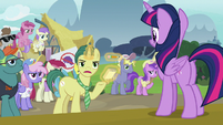"Reporter Pony ""it doesn't seem believable"" S7E14"