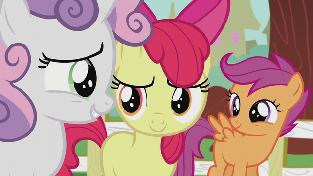 "File:Sweetie Belle ""that sounds like a yes"" S5E18.png"