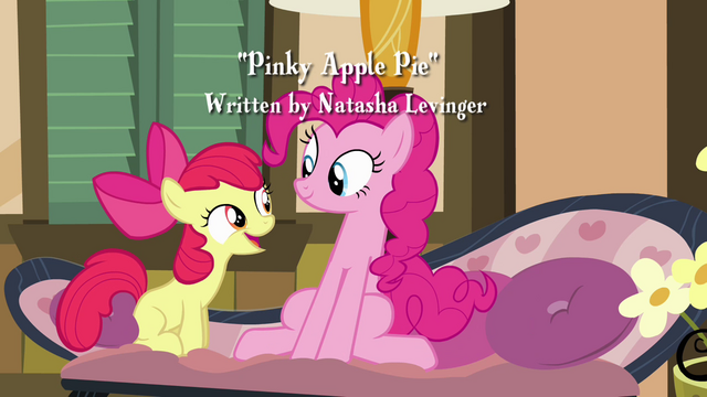 "File:Apple Bloom ""I have another sister!"" S4E09.png"