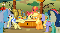 Flim approaching Applejack S02E15