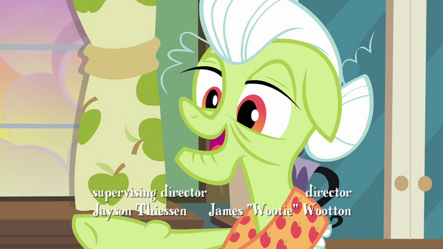 "File:Granny Smith ""sure would appreciate that"" S3E8.png"