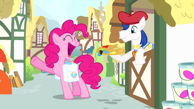 "File:Pinkie Pie ""I'm gonna need the full rainbow"" S4E12.png"