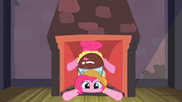 Pinkie Pie down the chimney S2E11