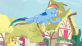 Rainbow Dash capturing coins in hoof S3E6.png