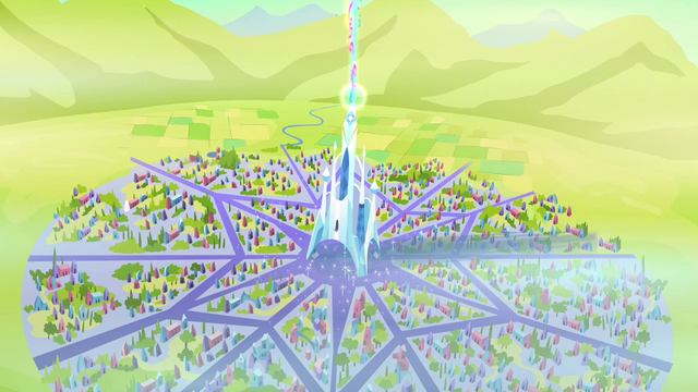 File:Aerial view of the Crystal Empire just freed S3E02.png