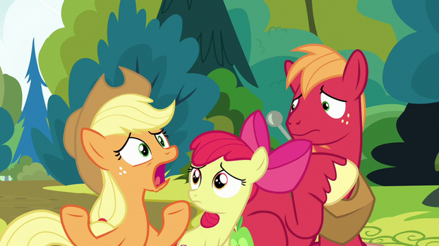 """File:Applejack """"how did we not know?!"""" S7E13.png"""