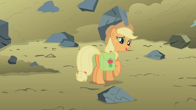 "File:Applejack ""no big whoop, sugarcube"" S1E07.png"