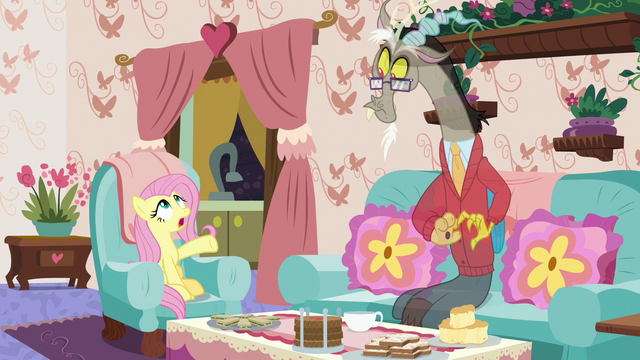 "File:Fluttershy ""being like everypony else!"" S7E12.png"