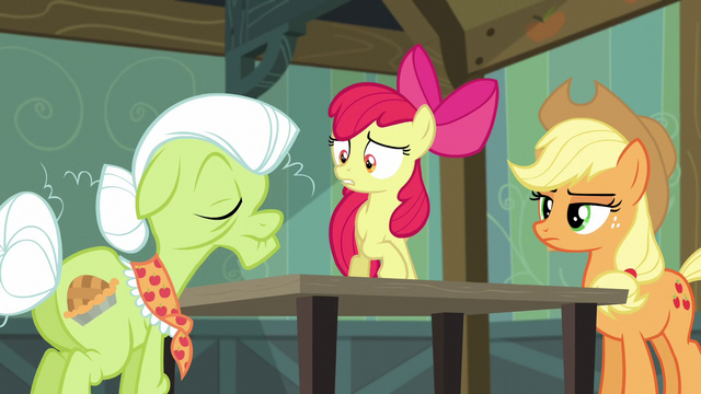 "File:Apple Bloom ""what is it, Granny?"" S5E4.png"