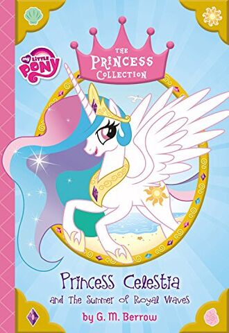 File:Princess Celestia and the Summer of Royal Waves cover.jpg