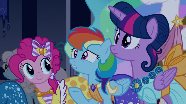 "File:Rainbow Dash ""I think they're... jokes?"" S5E7.png"