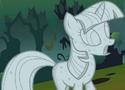 Twilight Sparkle statue ID S1E17