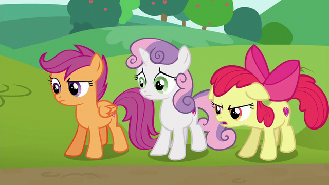 "File:Apple Bloom ""I don't think they're really helping anymore"" S6E14.png"