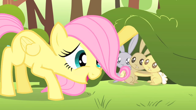 File:Filly Fluttershy calming critters S1E23.png