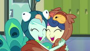 Lyra and Sweetie Drops hugging EG3.png