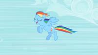 Rainbow Dash flying S2E08