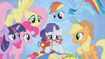 Rarity wants to overcome intimidation S1E14