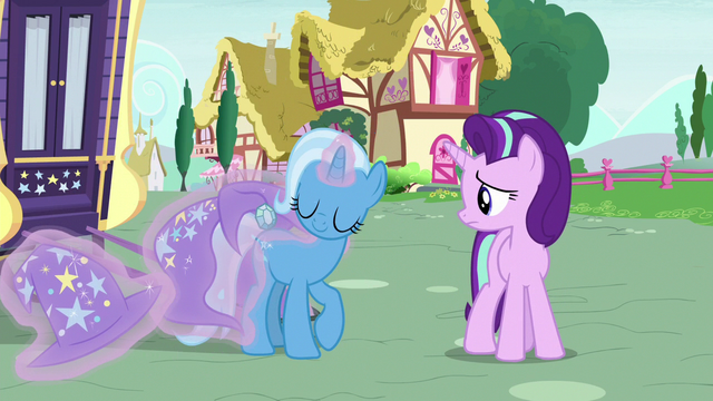 File:Trixie removing her cart harness and cloak S6E25.png