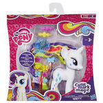 Cutie Mark Magic Styling Strands Rarity doll packaging
