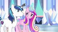 Princess Cadance tell me S3E1