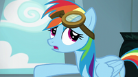 "Rainbow Dash ""anypony can put them on"" S6E7"