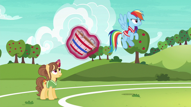 File:Rainbow and second tryout unicorn ready to play S6E18.png