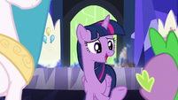 "Twilight Sparkle ""would totally hit it off!"" S7E1"