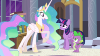 "Princess Celestia ""it must've been difficult"" S4E01"