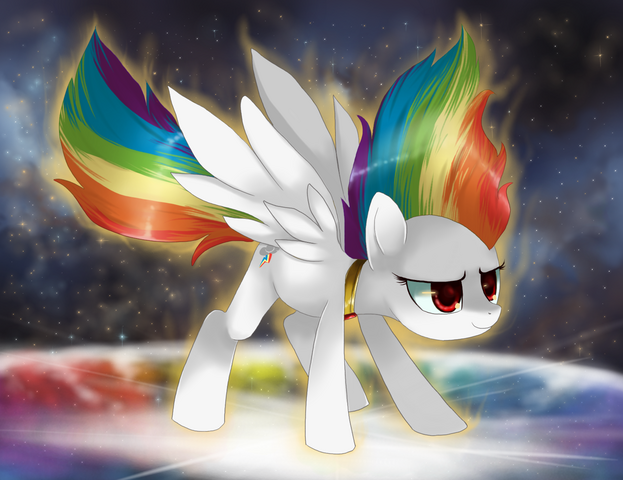 File:FANMADE Super Rainbow Dash by Cresento.png