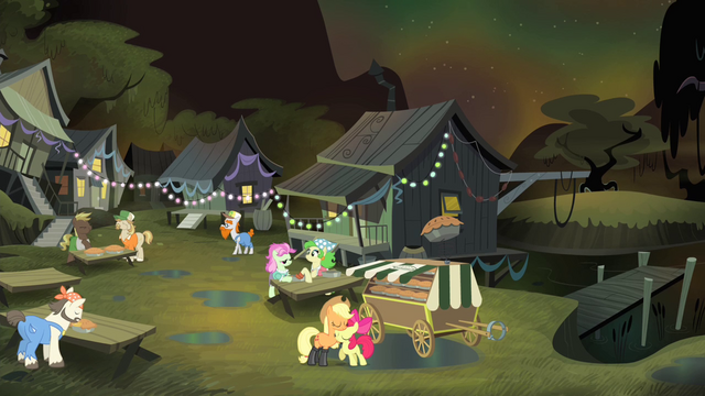 File:Applejack and Apple Bloom in the bayou S4E17.png
