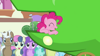 Pinkie Pie continues to giggle S3E4