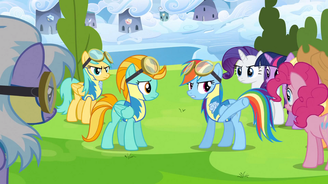 File:Rainbow Dash talks to Lightning Dust about her attitude S3E07.png