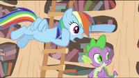 Rainbow tricking Twilight S2E20