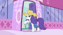 Rarity about to leave S4E13