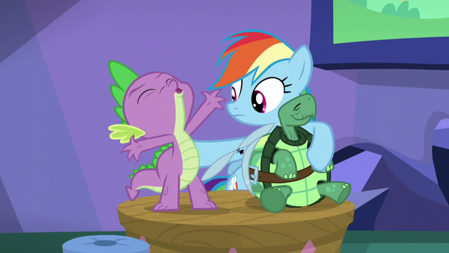 "File:Spike ""No!"" S5E5.png"