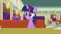 Twilight Sparkle smiling S6E9