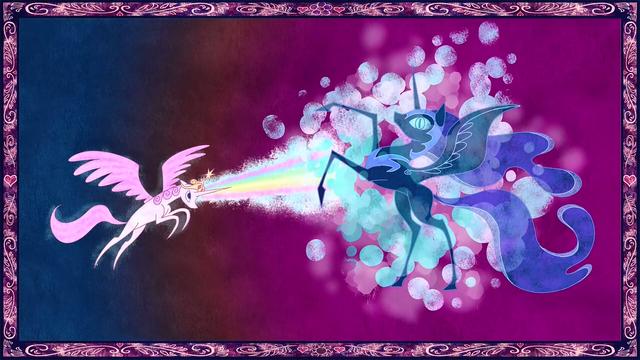 Файл:Celestia Defeats Nightmare Moon S01E01.png