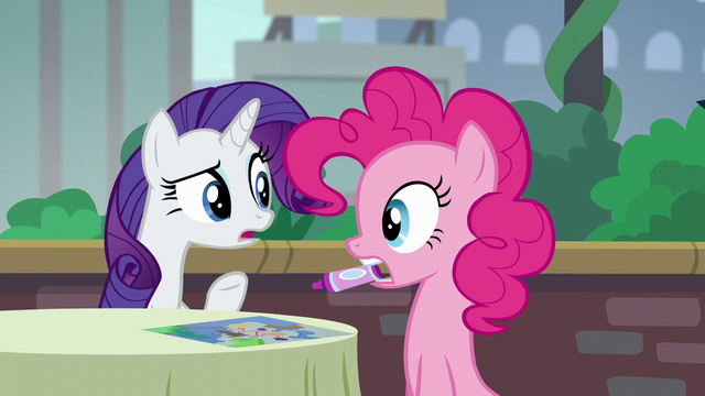 "File:Rarity ""The Cantering Cook isn't that kind of restaurant!"" S6E3.png"