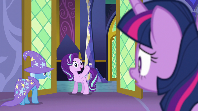 "File:Starlight Glimmer ""you won't regret it!"" S6E6.png"