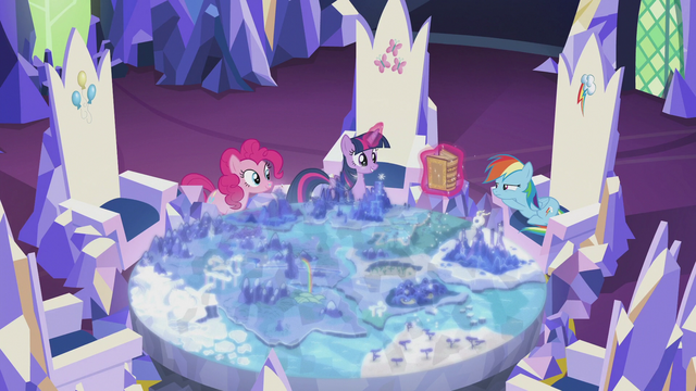 File:Twilight levitating the book Bygone Griffons of Greatness S5E8.png