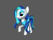 FANMADE 3D OC pony by Okaminarutofan999 1