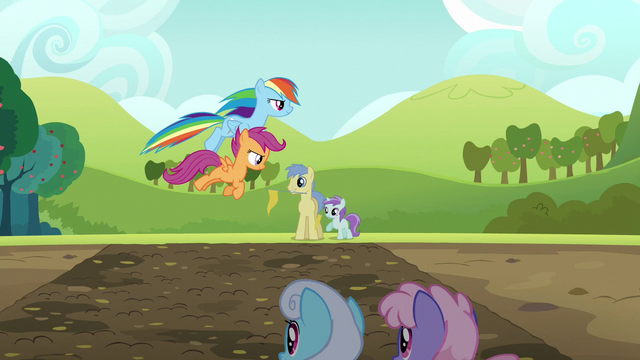 File:Rainbow and Scootaloo jump the mud puddle S5E17.png