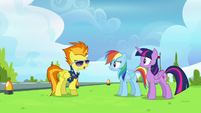 """Spitfire """"a balloon with a hole in it"""" S6E24"""