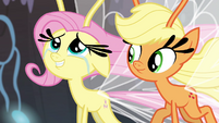 Fluttershy happy for the Breezies S4E16
